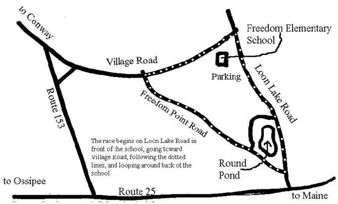 road race map