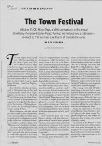 Yankee Mag-The Town Festival p1