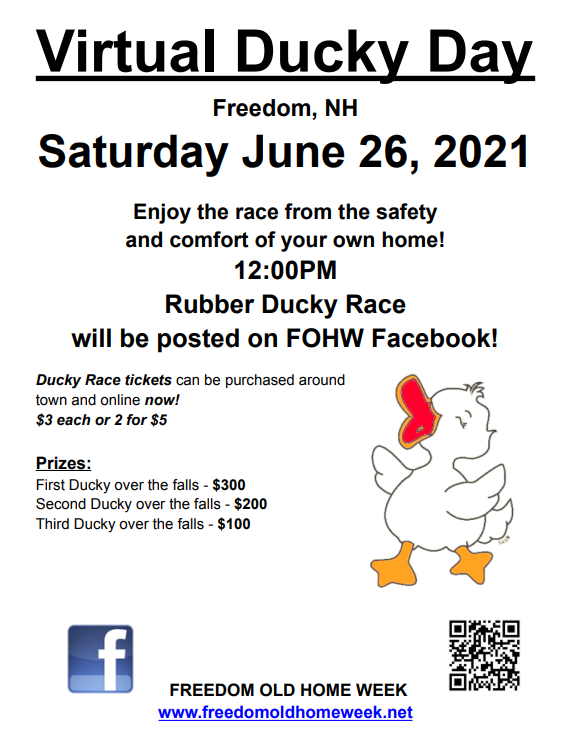 Virtual Ducky Day 2021 Signs